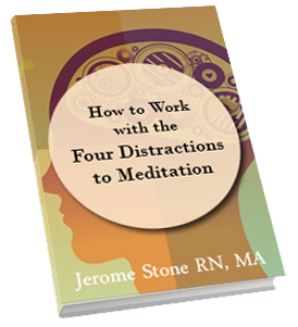 How to Work with the Four Distractions to Meditation