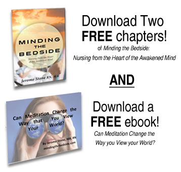 Click Here To Download Two Free Chapters From Minding The Bedside and A Free E-Book From Author Jerome Stone