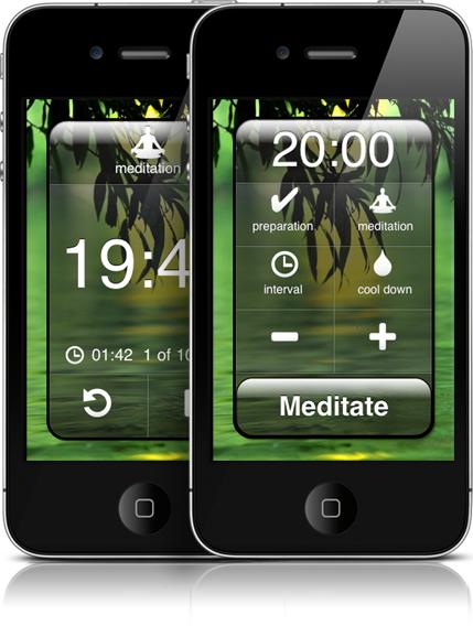 Meditate app